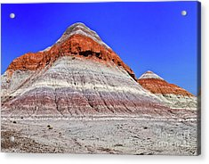 Acrylic Print featuring the photograph Painted Desert National Park by Bob and Nadine Johnston