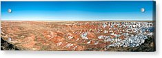 Painted Desert, Petrified Forest Acrylic Print