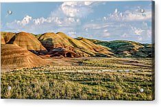 Painted Hills Sunset Acrylic Print by Joe Hudspeth