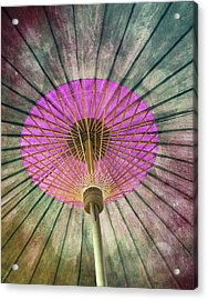 Painted Parasol  Acrylic Print by Stephen Norris