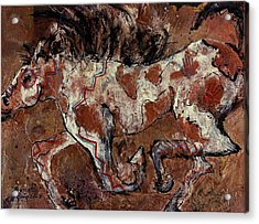 Painted Pony Acrylic Print