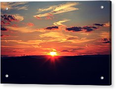 Painted Skies Acrylic Print by Candice Trimble