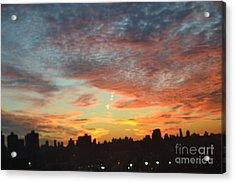 Painted Skies II Acrylic Print by Robert Daniels