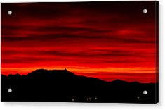 Acrylic Print featuring the photograph Painted Sky 36 by Mark Myhaver