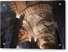 Acrylic Print featuring the photograph Painted Vaults by Lynn Palmer