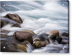 Acrylic Print featuring the photograph Painted Water by Brian Bonham