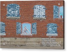 Painted Windows Acrylic Print by Kay Pickens