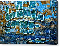 Painted Windows Number 1 Acrylic Print