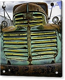 Painted With Rust Acrylic Print