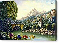 Painters Creek 2 Acrylic Print