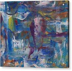Painters Palette Acrylic Print