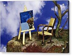 Painting Acrylic Print