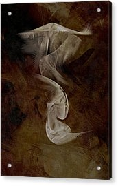 Painting The Abstract Acrylic Print