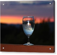 Pairing Acrylic Print by Kandy Hurley