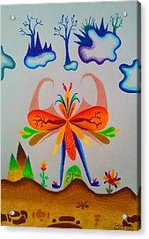 Pajaro Acrylic Print by Alfonso  Furrer