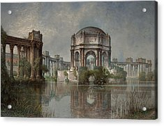 Palace Of Fine Arts And The Lagoon Acrylic Print