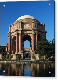 Palace Of Fine Arts Color Acrylic Print