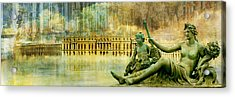 Palace Of Versailles Acrylic Print by Catf