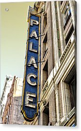 Palace Theater In Downtown Los Angeles Acrylic Print by Gregory Dyer