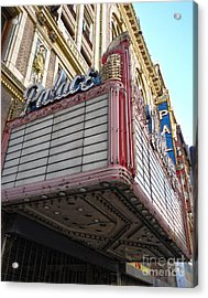 Palace Theater Marquee Acrylic Print by Gregory Dyer