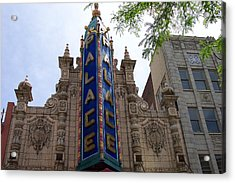 Palace Theater Acrylic Print by Pamela Schreckengost
