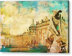 Palaces And Parks Of Potsdam And Berlin Acrylic Print by Catf