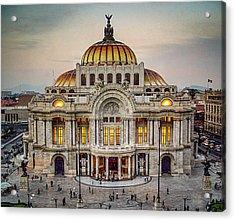 Palacio De Bellas Artes Acrylic Print