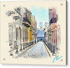 Palacio Santa Catalina Acrylic Print