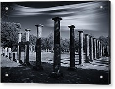 Acrylic Print featuring the photograph Palaestra At Olympia by Micah Goff