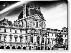 Palais Du Louvre Acrylic Print by John Rizzuto