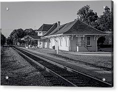 Palatka Train Station Acrylic Print by Lynn Palmer