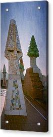 Palau Guell Chimneys Acrylic Print