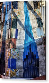 Palau Guell Acrylic Print by Joan Carroll