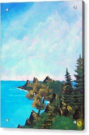 Palawan Acrylic Print by Richard Bantigue