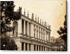 Palazzo Chiericati Acrylic Print