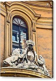 Palazzo Lions Acrylic Print