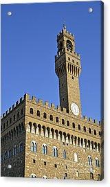 Palazzo Vecchio Acrylic Print by Sami Sarkis