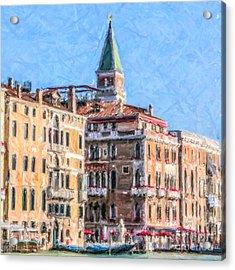 Palazzo Venice Acrylic Print
