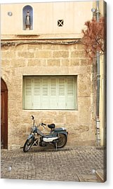Acrylic Print featuring the photograph Pale Shutters by Colleen Williams
