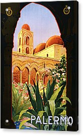 Palermo Acrylic Print by Pg Reproductions