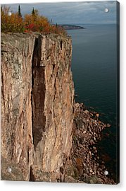 Acrylic Print featuring the photograph Palisade Depths by James Peterson