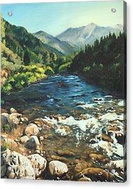 Palisades Creek  Acrylic Print