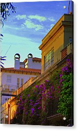 Palm Beach Via Acrylic Print