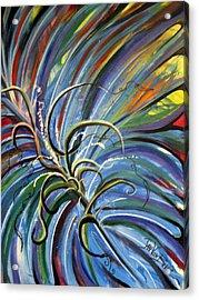 Palm Crazy Acrylic Print