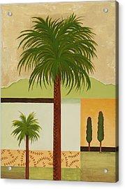 Palm Desert Acrylic Print by Carol Sabo