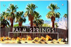 Palm Springs 1 Acrylic Print