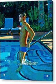 Palm Springs 6pm Acrylic Print by Douglas Simonson