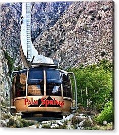 Palm Springs Tram 2 Acrylic Print by Susan Garren