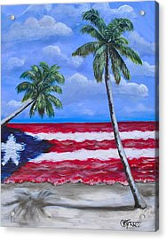 Palmas De Puerto Rico Acrylic Print