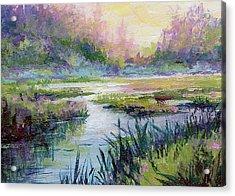 Palmer Hayflats Acrylic Print